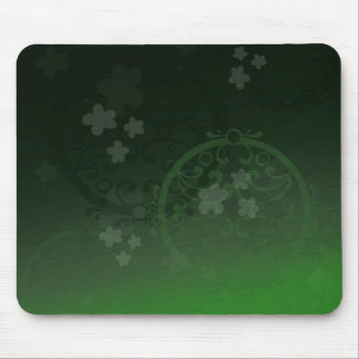 Lucky Green Mouse Pad