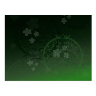 Lucky Green Postcards