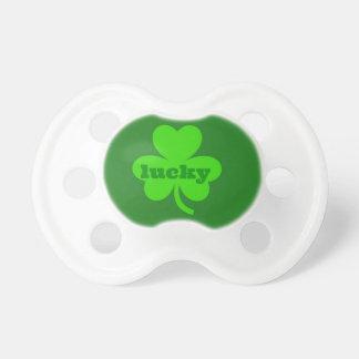 Lucky Green Shamrock Pacifier