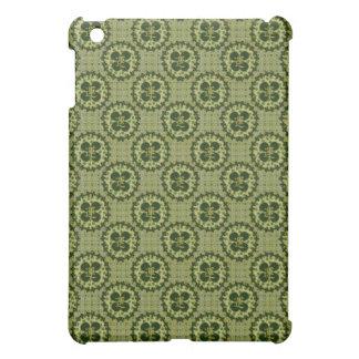 Lucky Green Shamrock Pattern iPad Mini Cases
