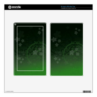 Lucky Green Skin For Kindle Fire