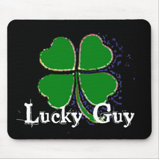 Lucky Guy Mouse Pad
