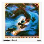 Lucky Happy Dragon Wall Graphics