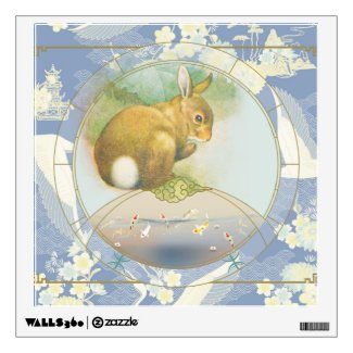 Lucky Hare | wall art Wall Decal