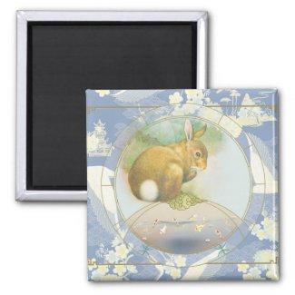 Lucky Hare | Zodiac magnet