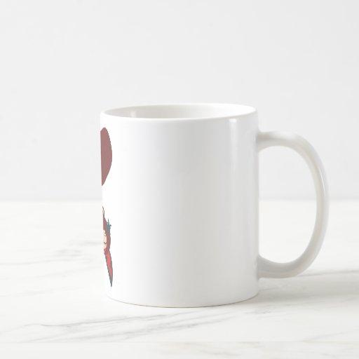 lucky heart coffee mug