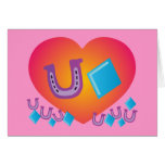 Lucky Heart Greeting Card