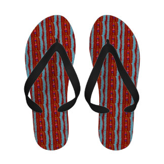 Lucky Hearts Child Art Red Sandals