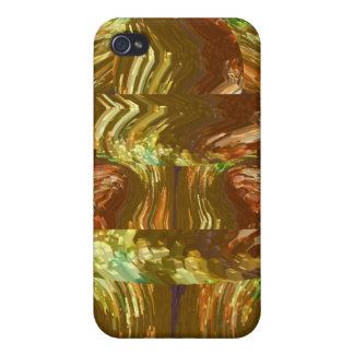 Lucky High Energy Golden Crystal iPhone 4 Cover