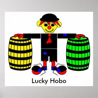 Lucky Hobo - Roaring 20s Poster
