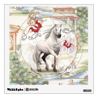 Lucky Horse | wall art Wall Decal