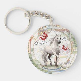 Lucky Horse | Zodiac keychain