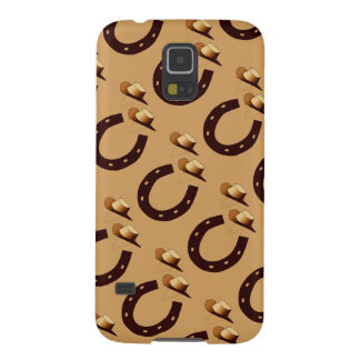 Lucky Horseshoe Cowboy Hats Samsung Galaxy S5 Case