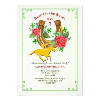 Lucky Horseshoe Invitation