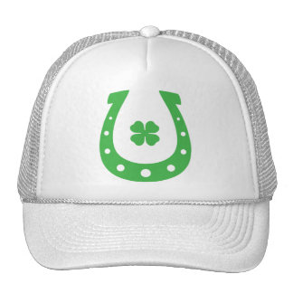 Lucky Horseshoe Trucker Hat