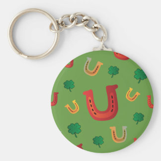 Lucky Horseshoes Key Chain