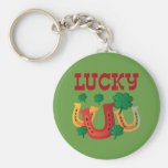 Lucky Horseshoes Key Chains