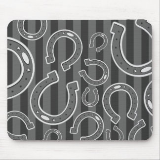 Lucky Horseshoes Mouse Pad