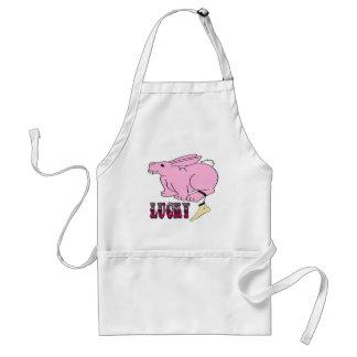 Lucky Human Foot Adult Apron
