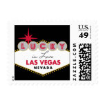 Lucky in Las Vegas Stamp