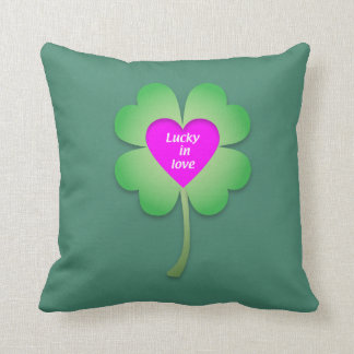Lucky in Love accent cushion