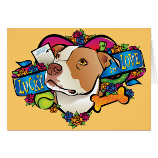 Lucky in Love Cards