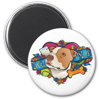 Lucky in Love Magnet