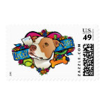 Lucky in Love Postage Stamp