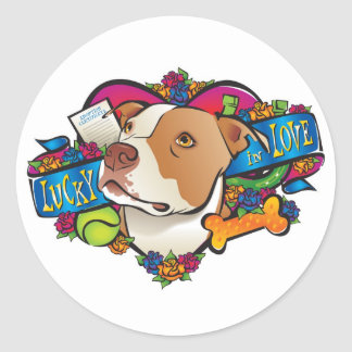Lucky in Love Stickers