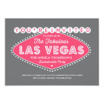 """Lucky in Pink Bachelorette Party Invitation 5"""" X 7"""" Invitation Card"""