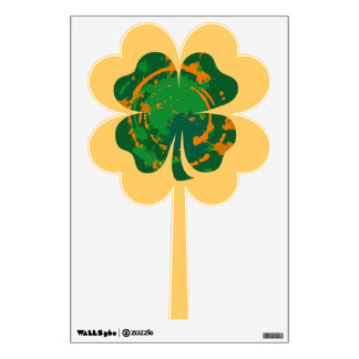 Lucky Ink Clover decal Wall Decals