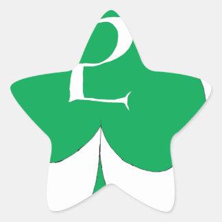 Lucky Irish 2 of Clubs, tony fernandes Star Sticker