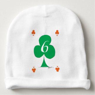 Lucky Irish 6 of Clubs, tony fernandes Baby Beanie