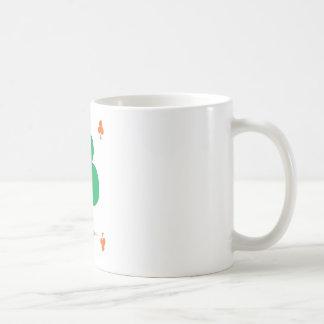 Lucky Irish 8 of Clubs, tony fernandes Coffee Mug