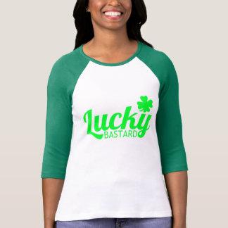 Lucky Irish Bastard T Shirt