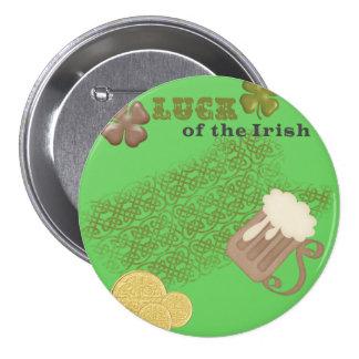 Lucky Irish Button