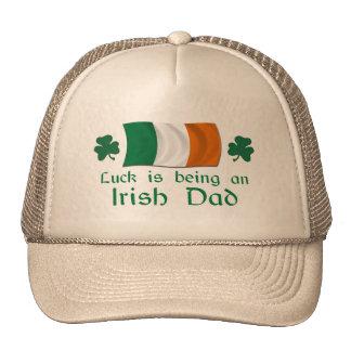 Lucky Irish Dad Trucker Hat
