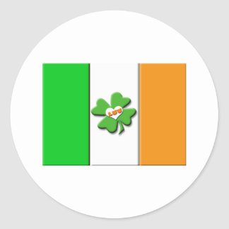 Lucky Irish Flag Sticker