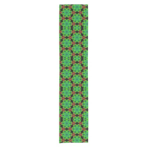 Lucky Irish Floral Pattern Table Runner