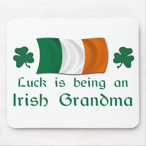 Lucky Irish Grandma Mouse Pad
