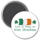 Lucky Irish Grandma Refrigerator Magnets