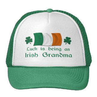 Lucky Irish Grandma Trucker Hat