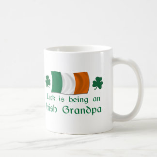 Lucky Irish Grandpa Coffee Mug