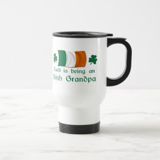 Lucky Irish Grandpa Coffee Mugs