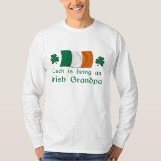Lucky Irish Grandpa T-shirt