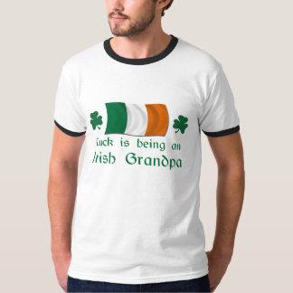 Lucky Irish Grandpa T Shirt
