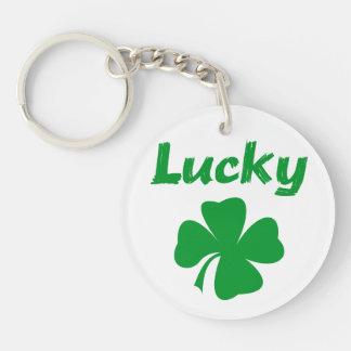Lucky Irish Acrylic Key Chains