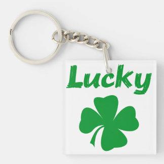 Lucky Irish Acrylic Keychain