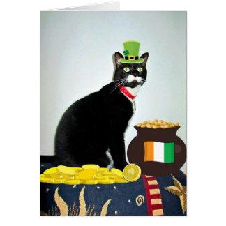 Lucky Irish Lucy Card