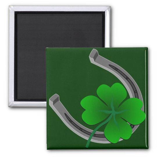 Lucky Irish Magnet Shirt St. Patrick's Home Decor